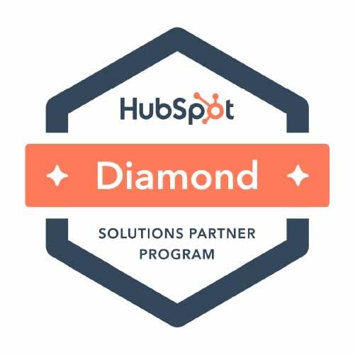 Diamond HubSpot Partner Solutions Program Logo