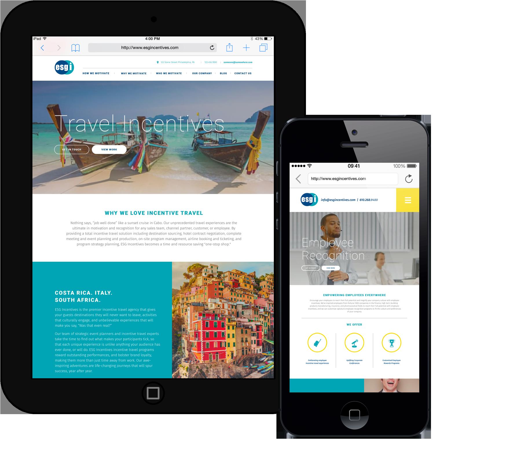 developing a responsive website