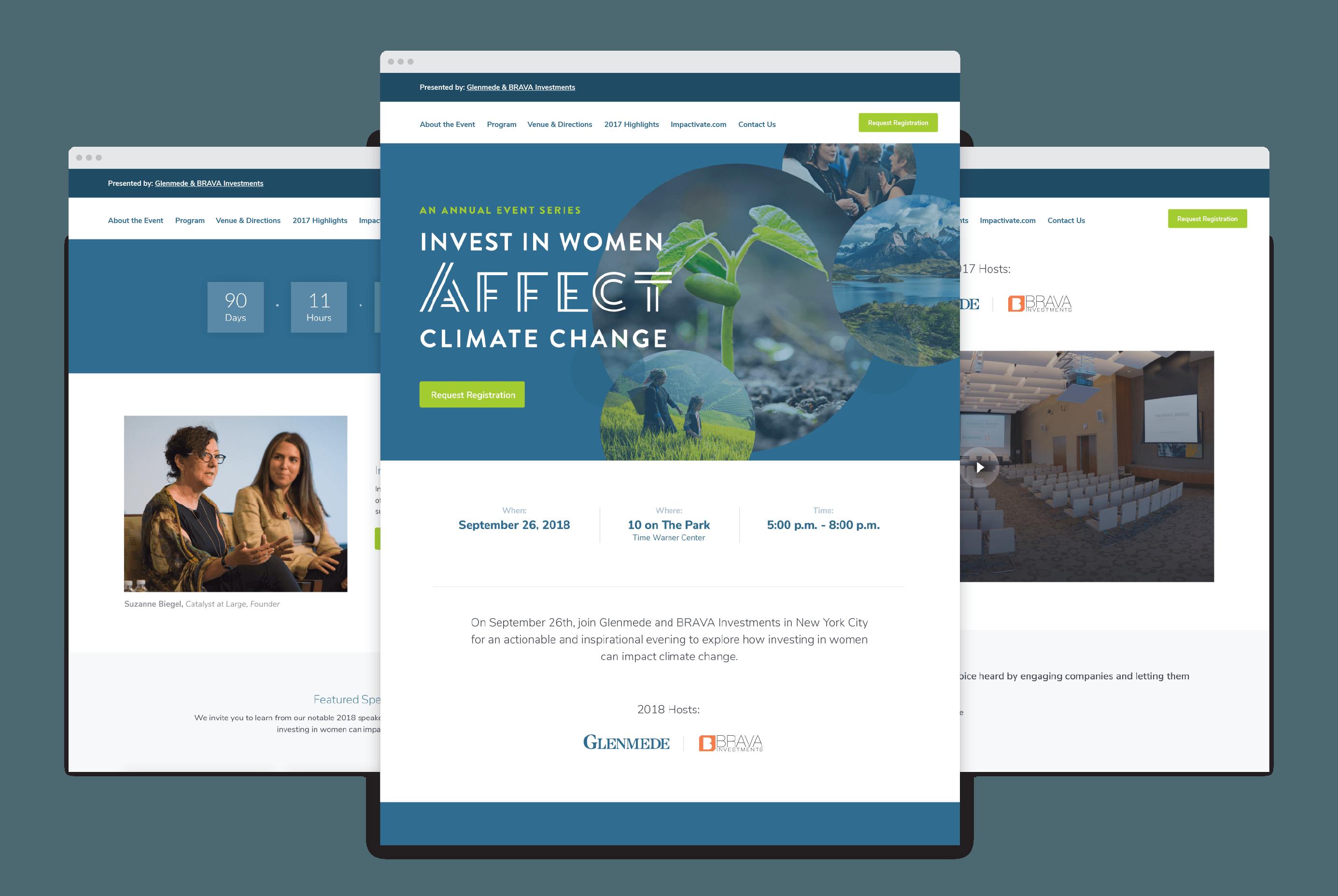 Event Microsite + Branding