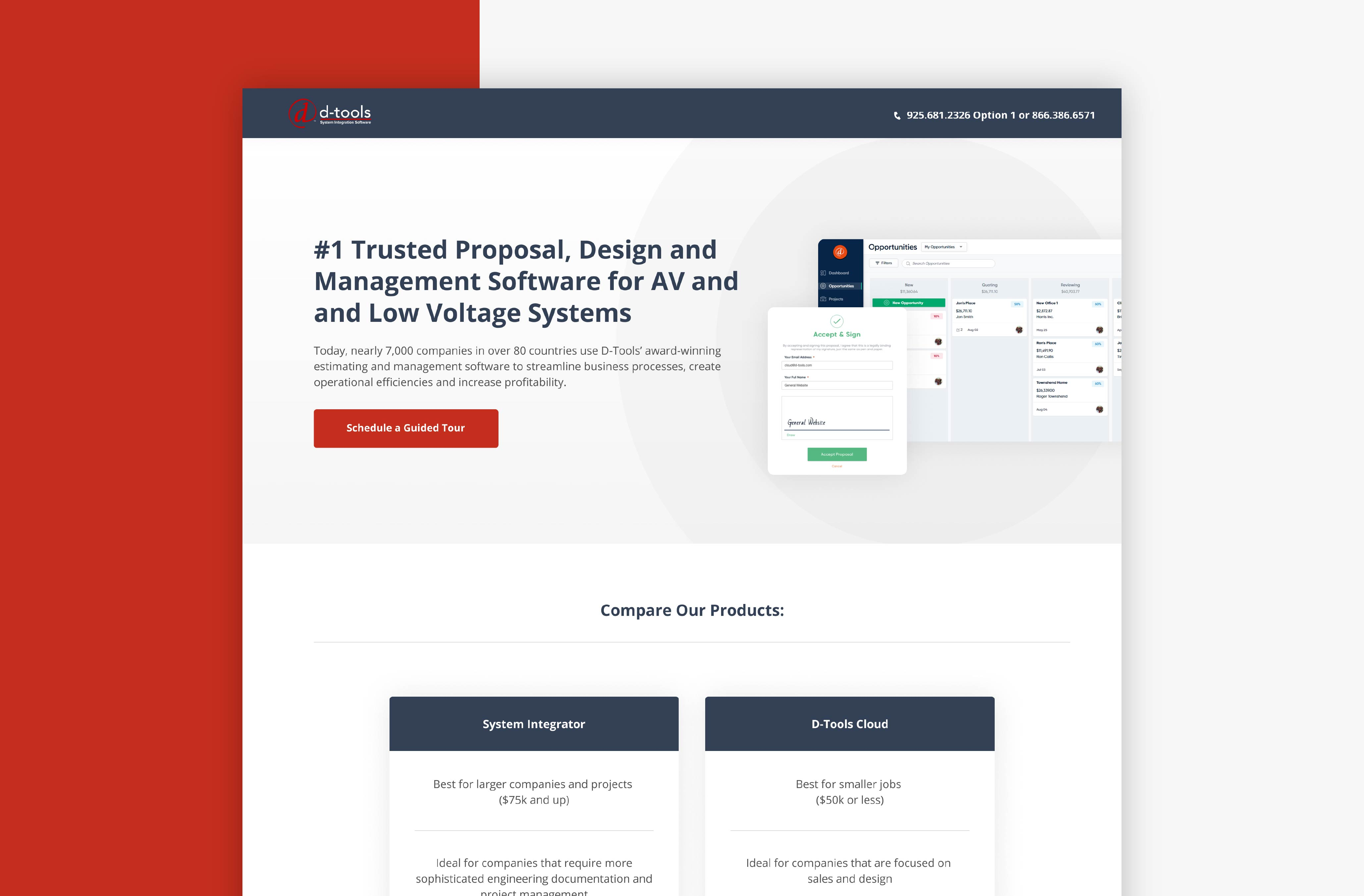 HubSpot Landing Page Design - Above the Fold