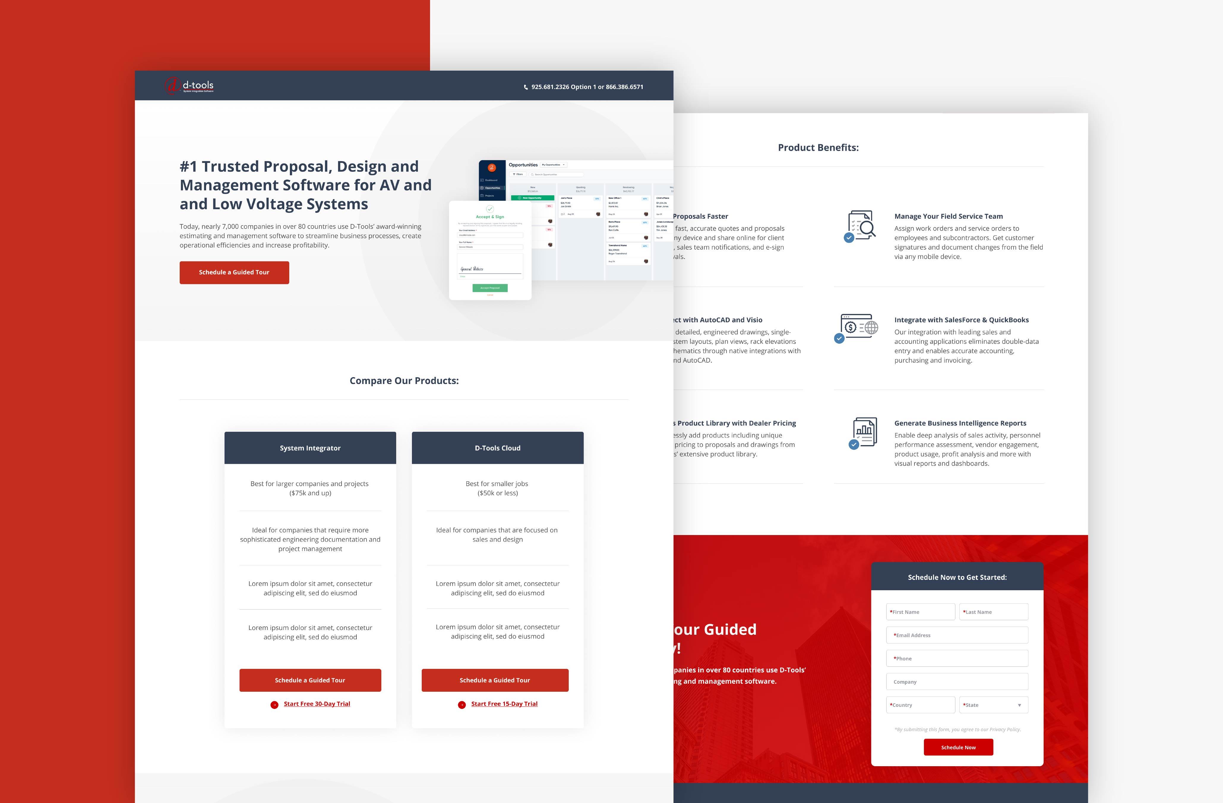 HubSpot Landing Page Design